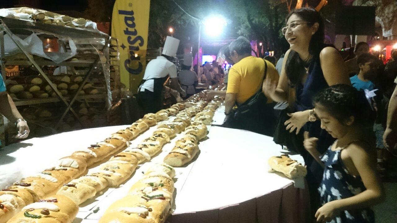 Festeja Mérida con Rosca de Reyes de 2.4 kilómetros