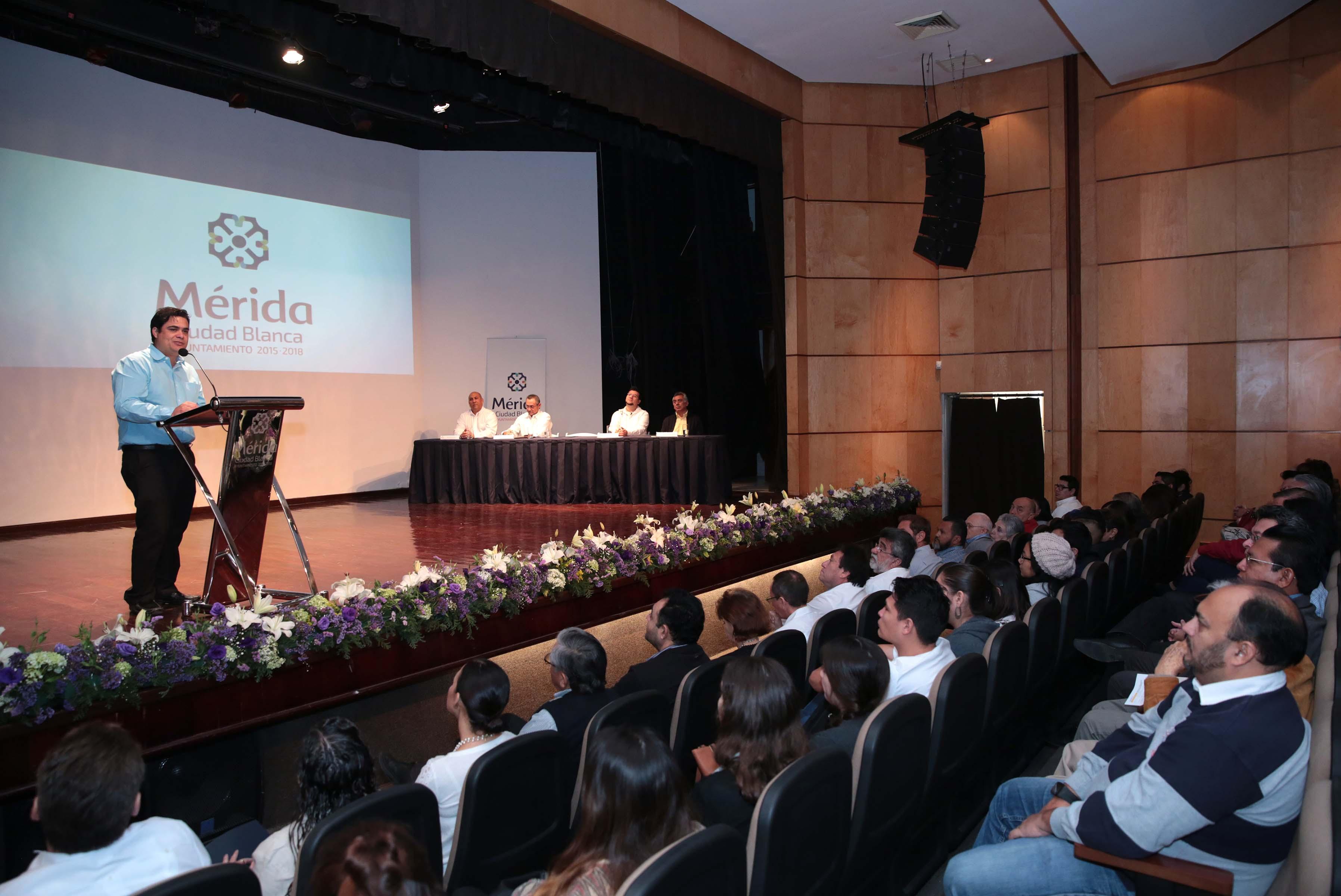 'Preservar la riqueza tangible e intangible de Mérida'