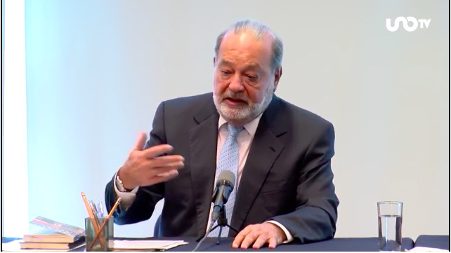 'Trump no es terminator, es negociator'.- Carlos Slim