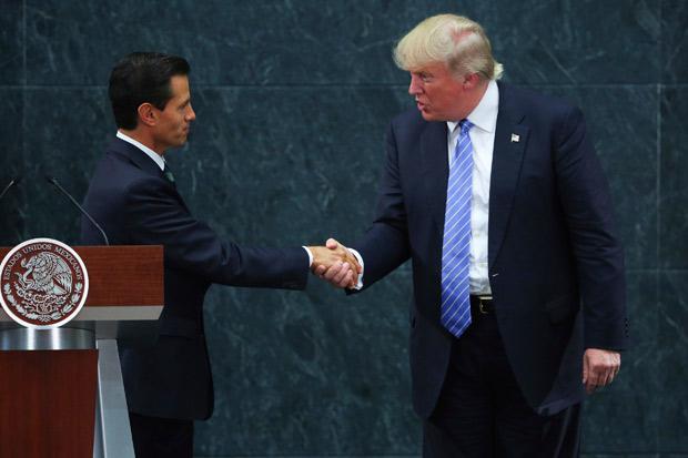 Trump amaga a México y a Peña
