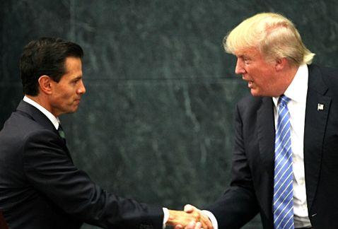Trump invita a Peña a la Casa Blanca