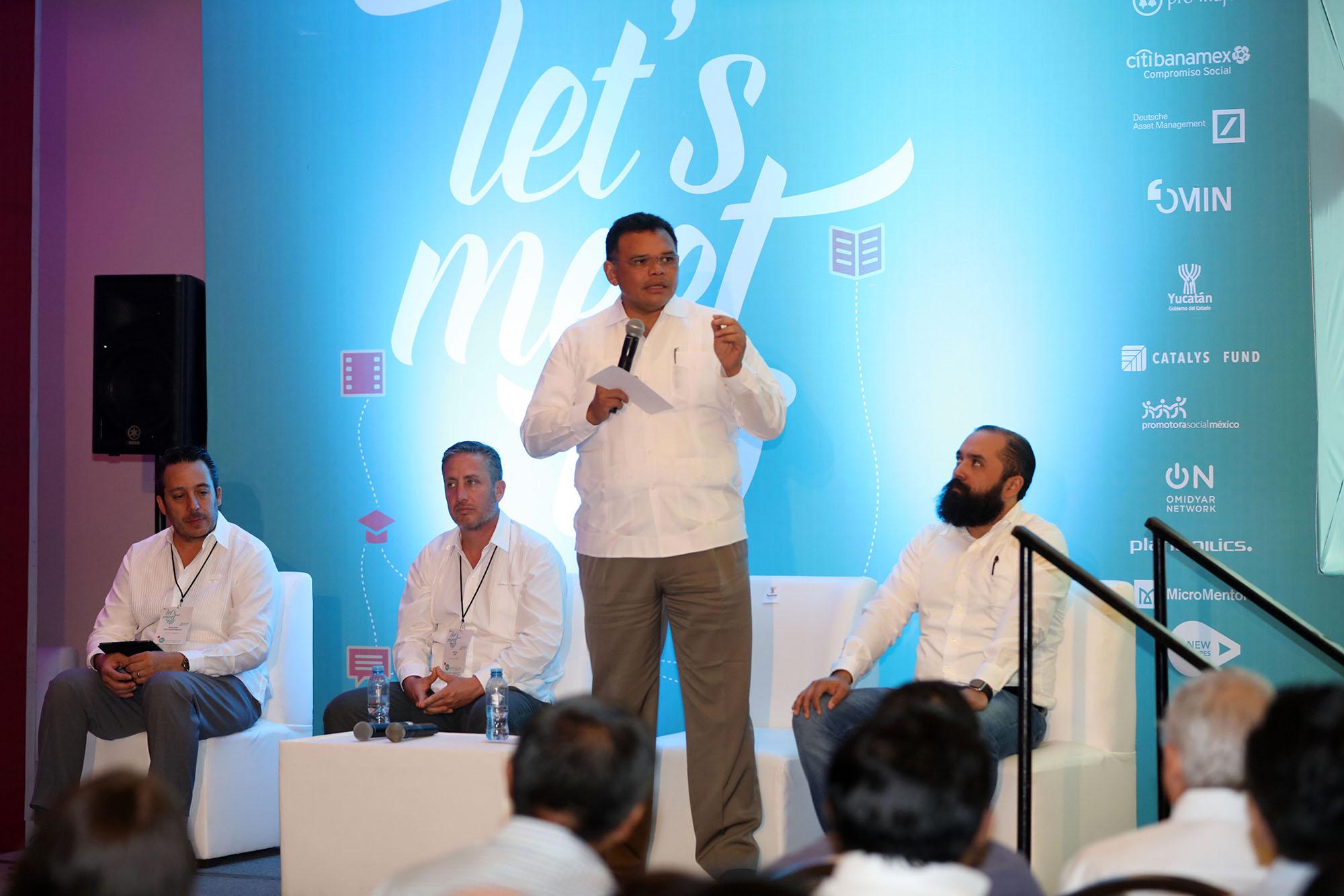 """Con""""roce mundial"""" ecosistema emprendedor yucateco"""