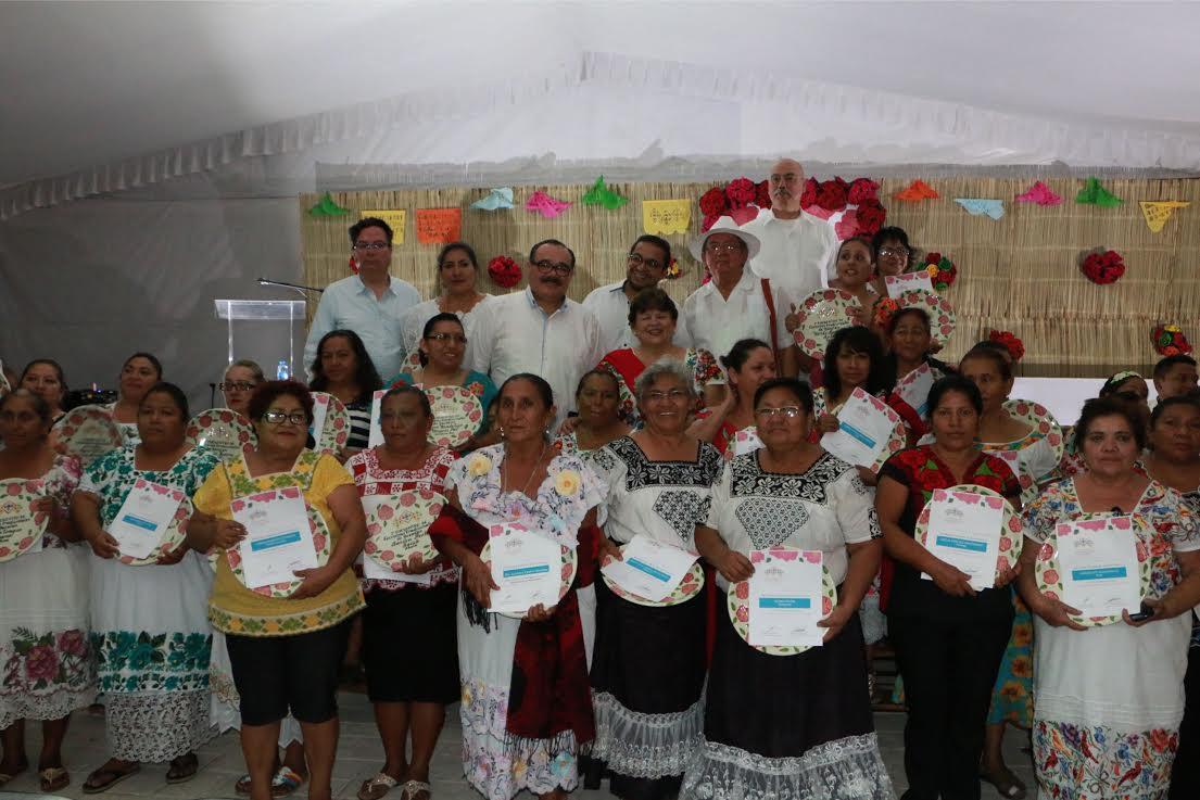 Concluye Segundo Encuentro de Cocineras Tradicionales de Yucatán