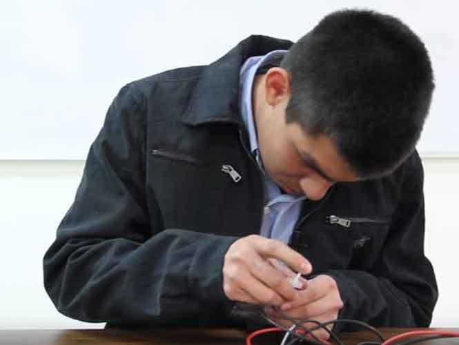 Estudiante de 15 años crea alternativa para generar electricidad
