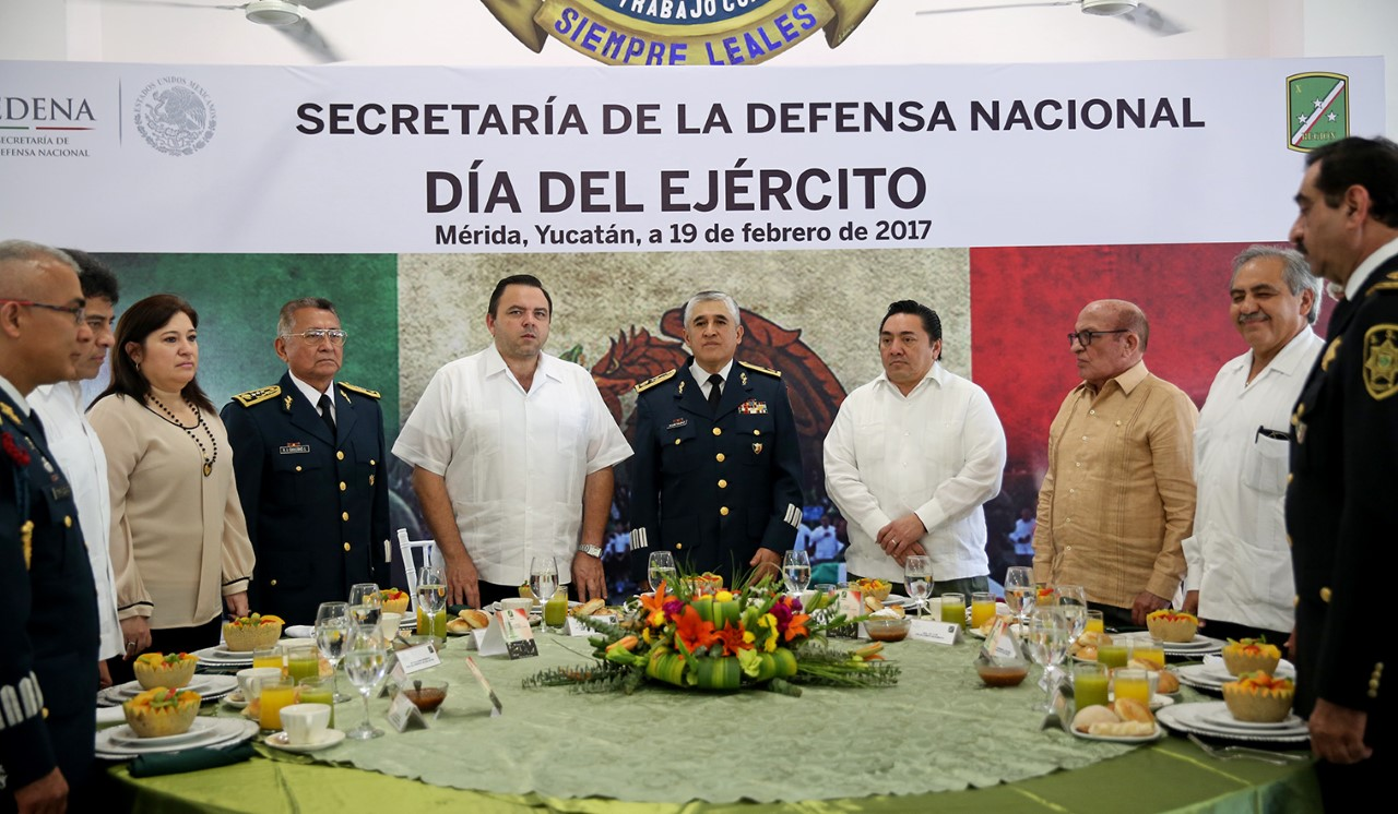 'No nos amedrenta la adversidad'.- Comandante 32 Zona Militar