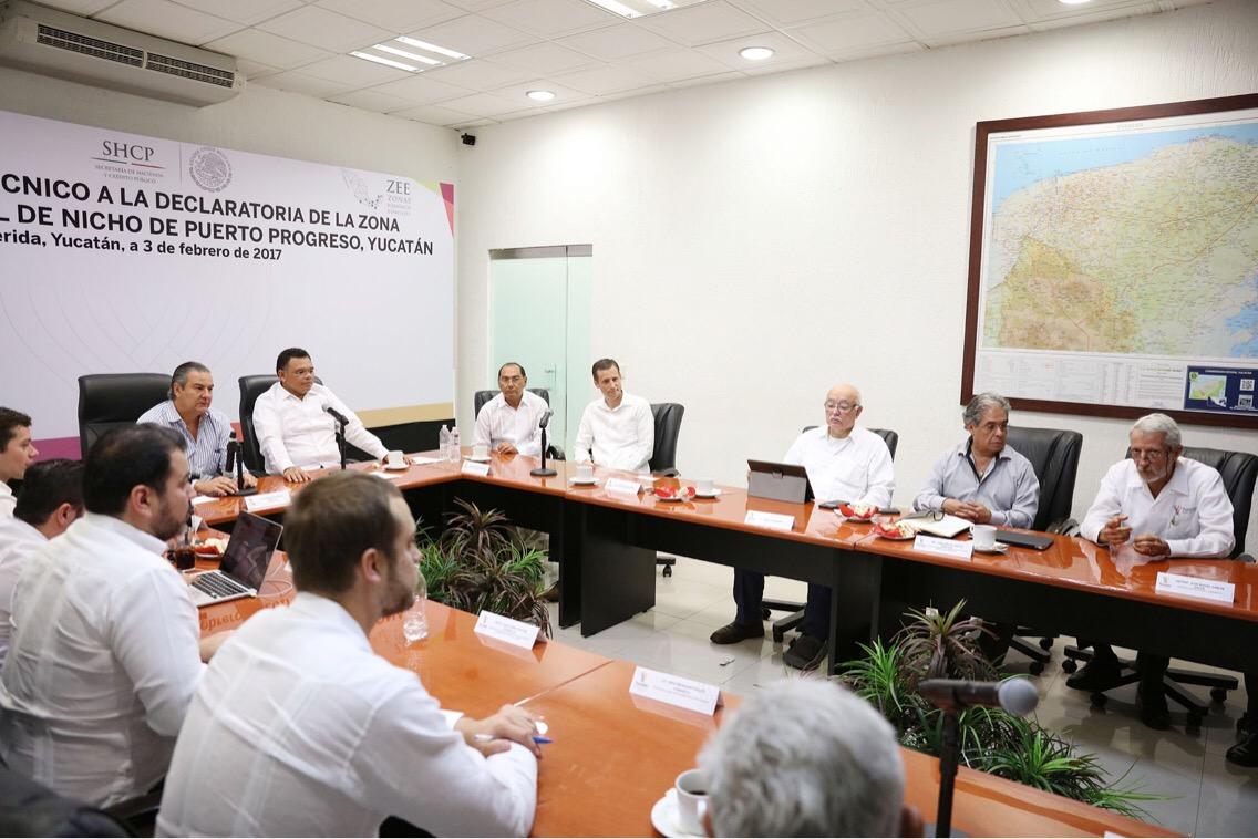 Esperan más de 30 mil empleos con Zona Económica de Yucatán