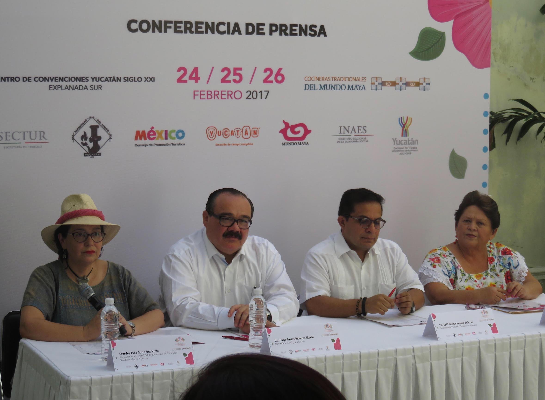 La mesa está servida: 2º Encuentro de Cocineras Tradicionales de Yucatán