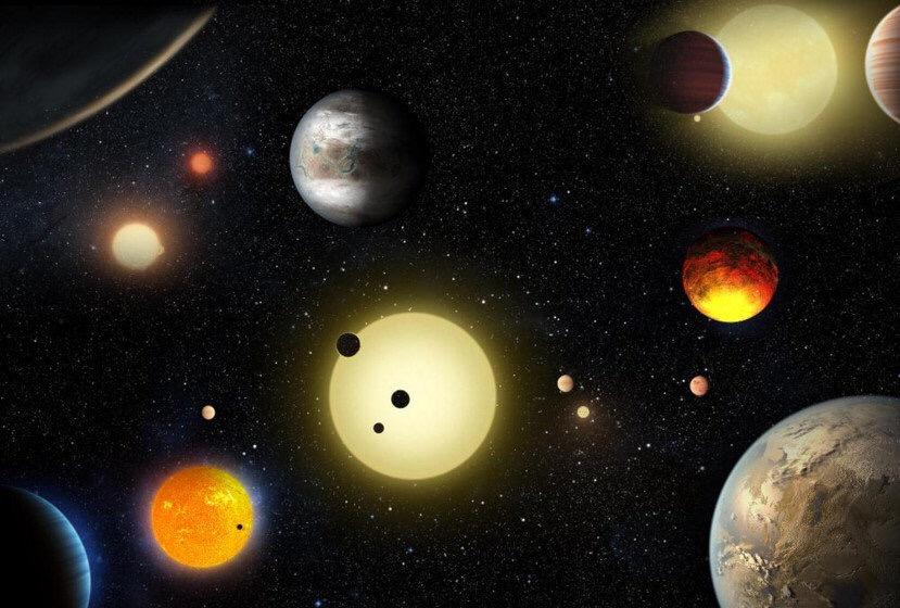 Descubren más de cien probables exoplanetas