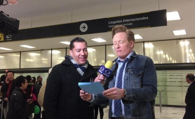 """Conan O´Brien pide """"asilo"""" en México"""