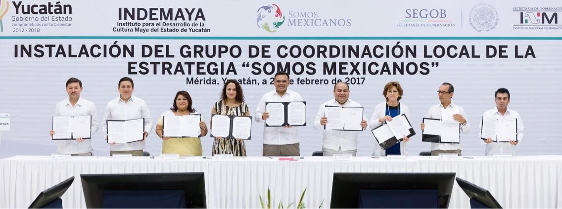 Presentó Yucatán plan de apoyo a migrantes