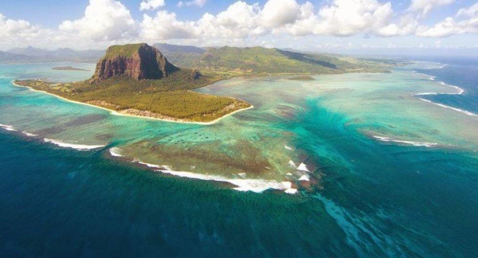 Descubren restos de antiguo continente bajo aguas de isla Mauricio
