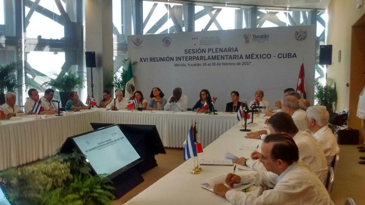 Parlamentarios México-Cuba reflexionan relación con EU