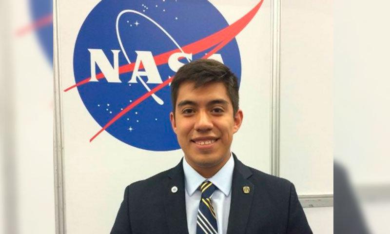 Es mexicano, tiene 20 años y viajará a Marte con la NASA
