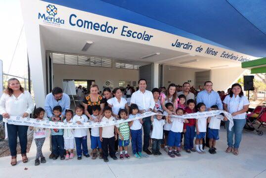 Jardín de Niños en comisaría Molas tiene comedor escolar