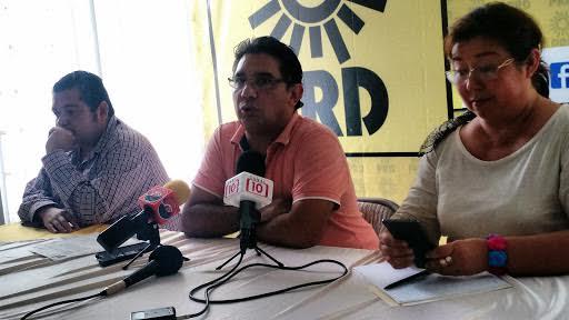 Pone 'oídos sordos' a protestas dirigencia de PRD Yucatán
