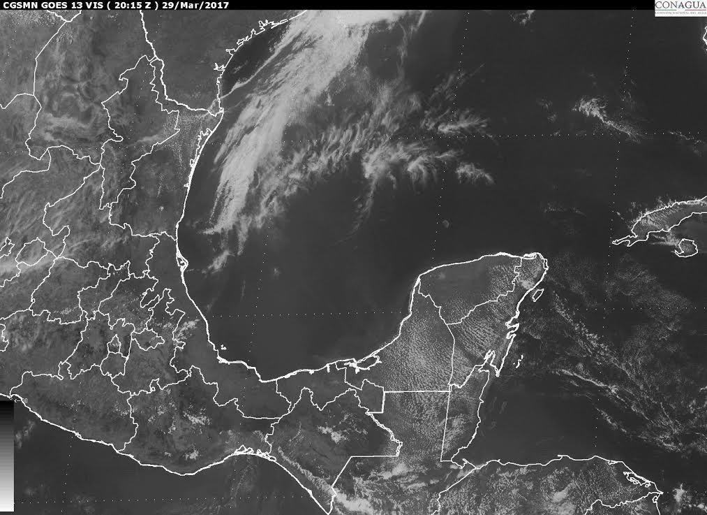 Zonas del estado de Campeche, con hasta 41 grados