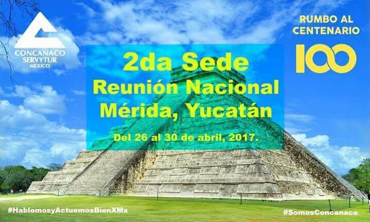 Preparativos en Mérida por Centenario de Concanaco