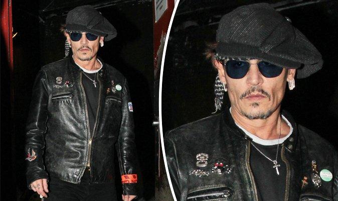 """La """"delgadez"""" que preocupa a los fans de Johnny Depp"""