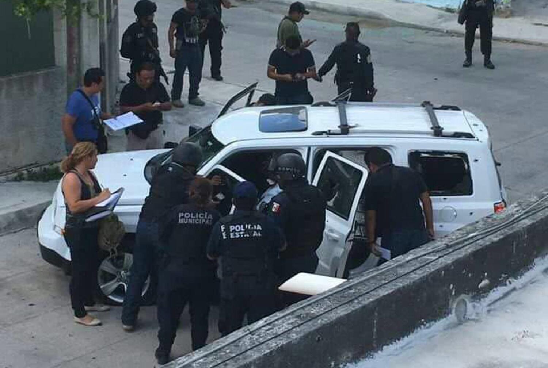 Un muerto y dos detenidos en balacera en Cancún