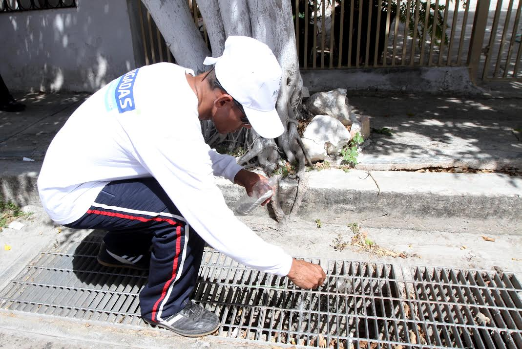 'Abatiza' Ayuntamiento Mérida 30 mil rejillas pluviales