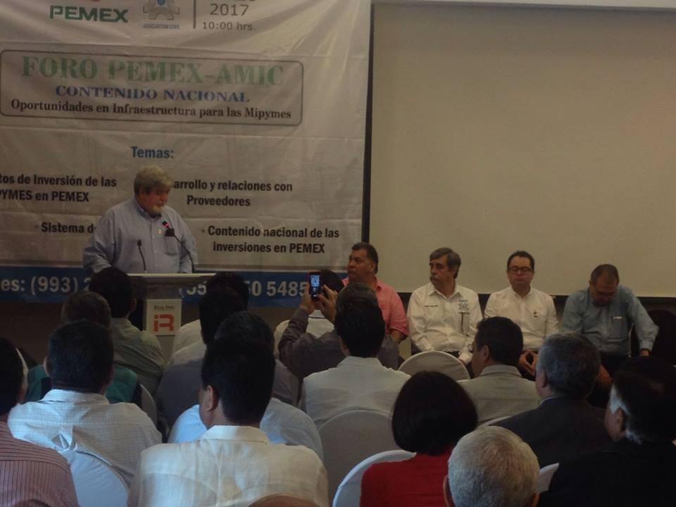 Mipymes yucatecas buscan ser proveedoras de Pemex