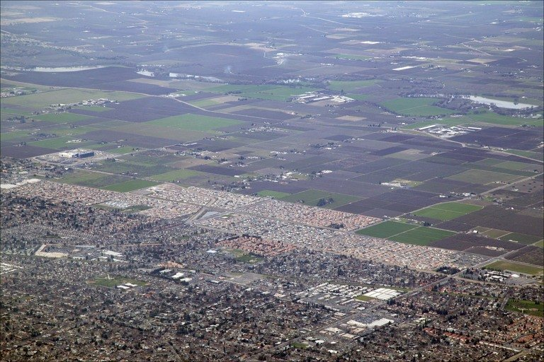 Gran parte de California se hunde, alerta la NASA