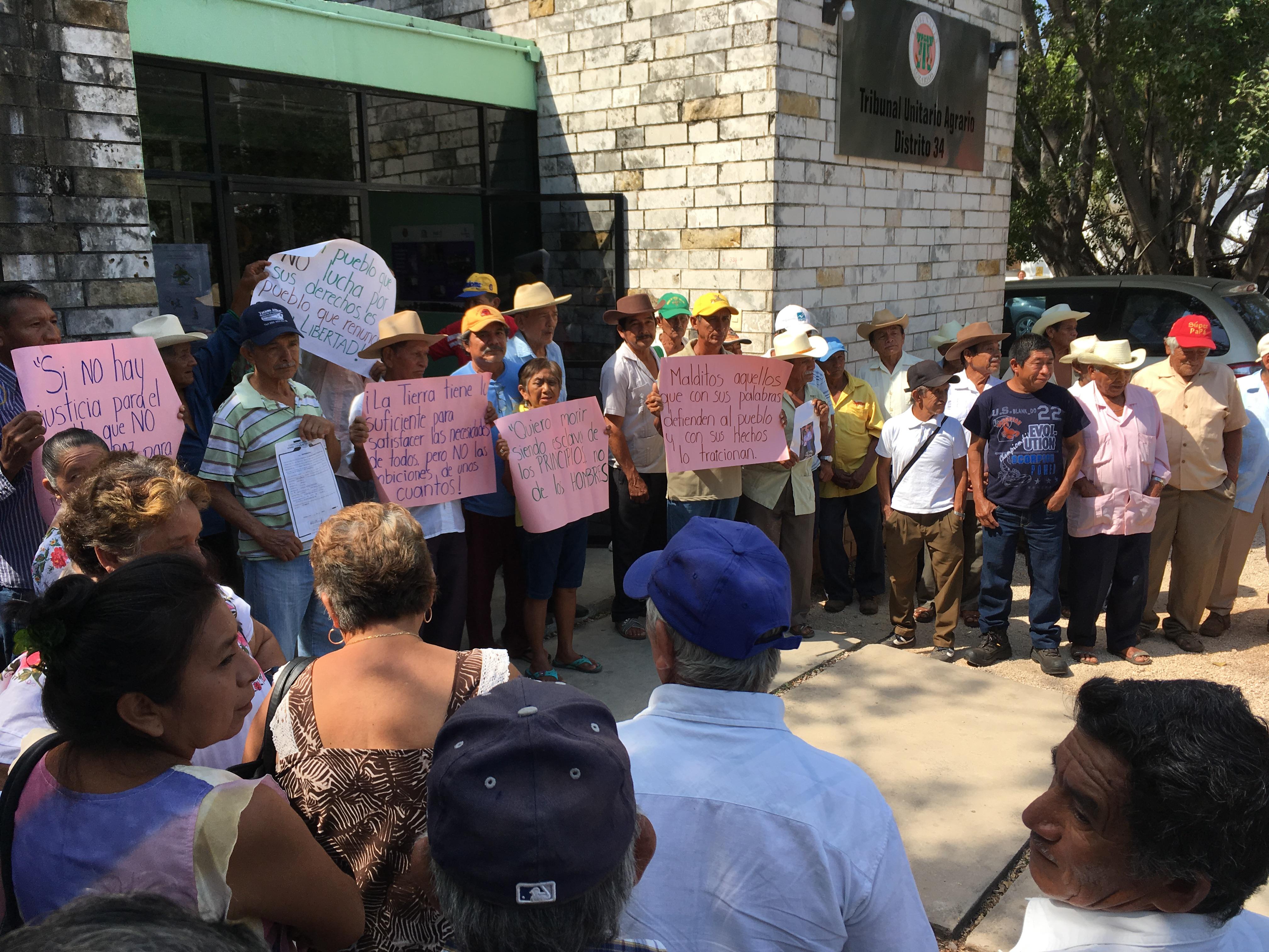 Comisaria de Chocholá, enlucha contra 'poderosos'