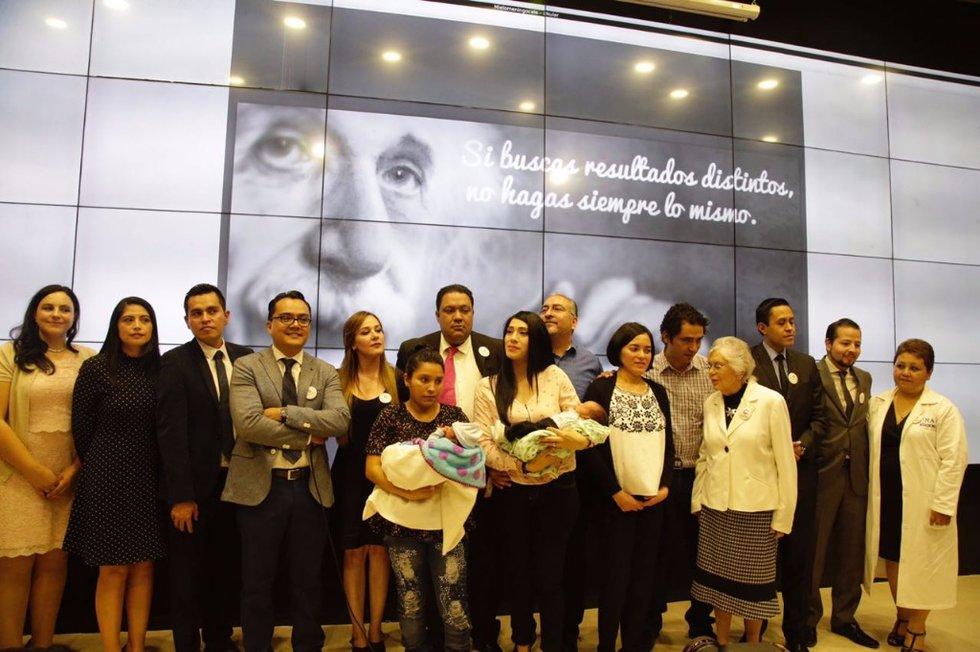 Mexicanos logran corregir espina bífida en fetos