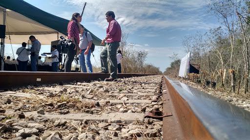 'Encarrilan' en Yucatánnueva central ferroviaria de carga