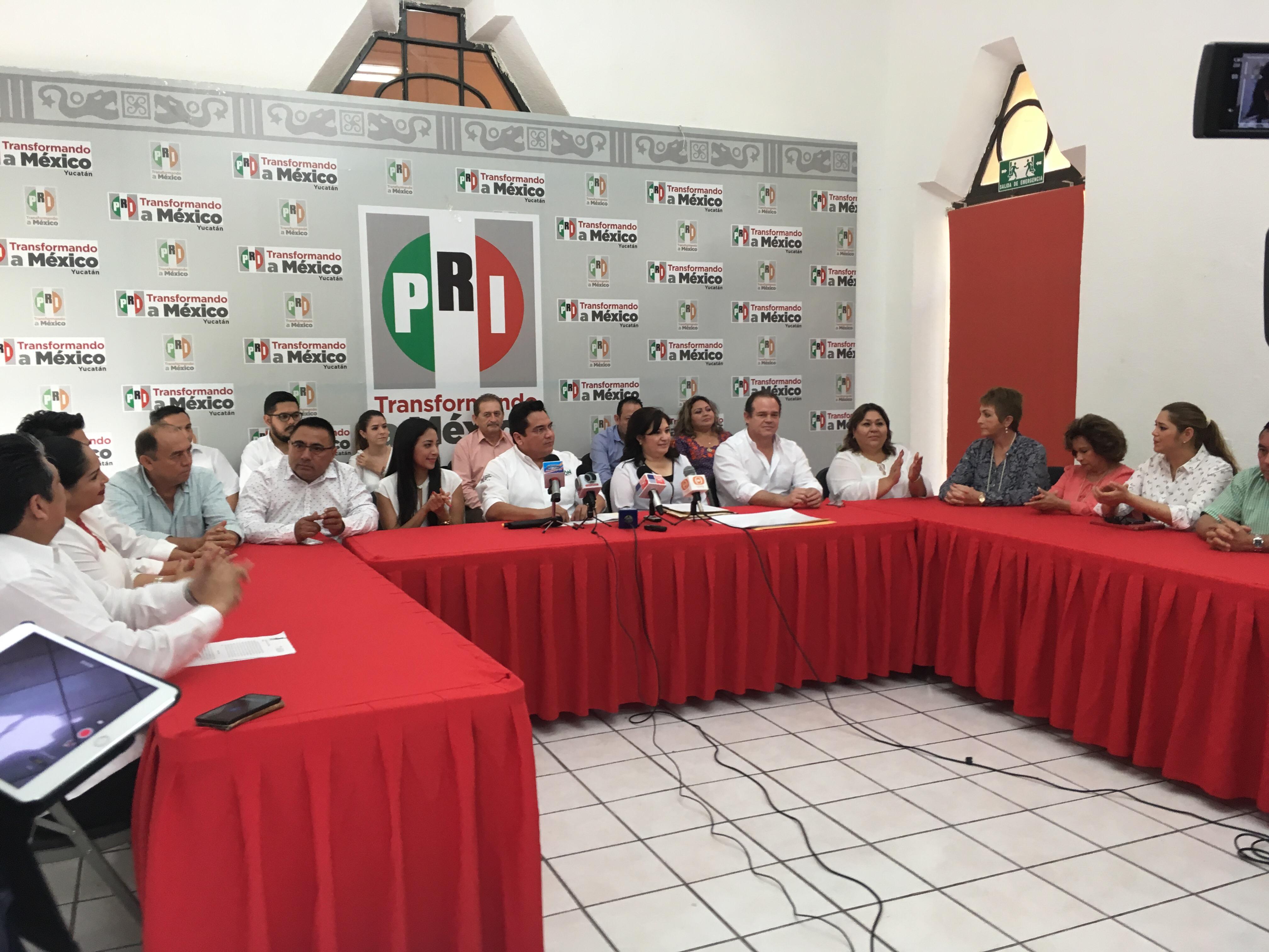 Entra PRI a reestructuración en Yucatán
