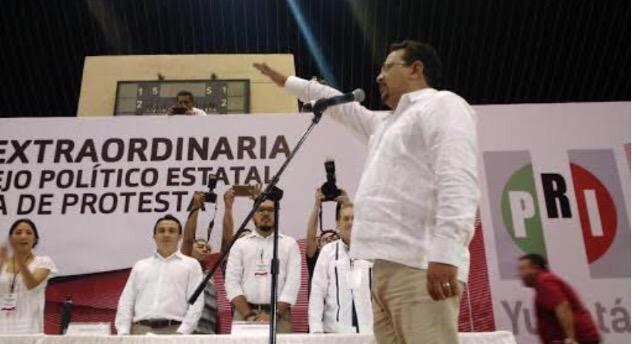 Tiene PRI Yucatán nuevo presidente estatal