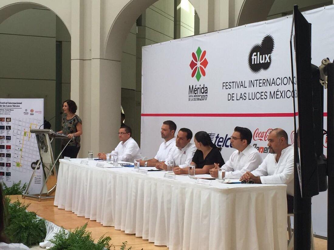 Iluminará Filux arte y cultura en Mérida