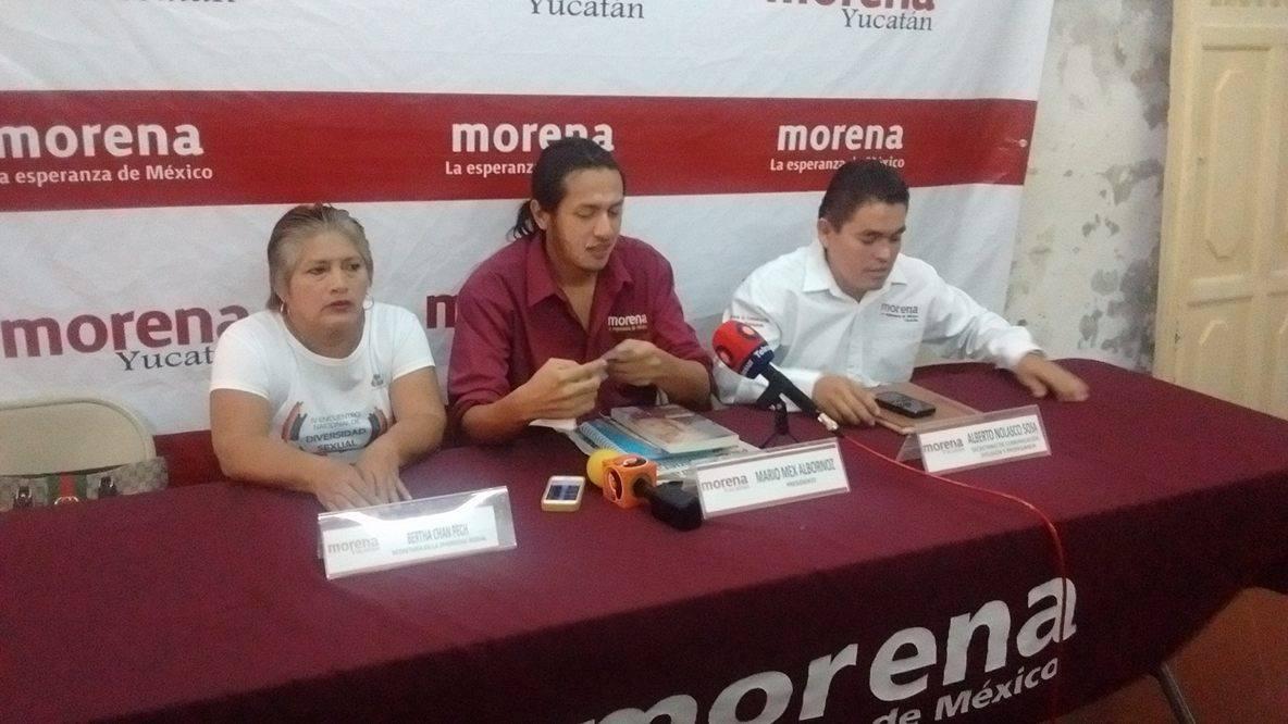 Interviene Morena en conflicto ejidal de Chocholá