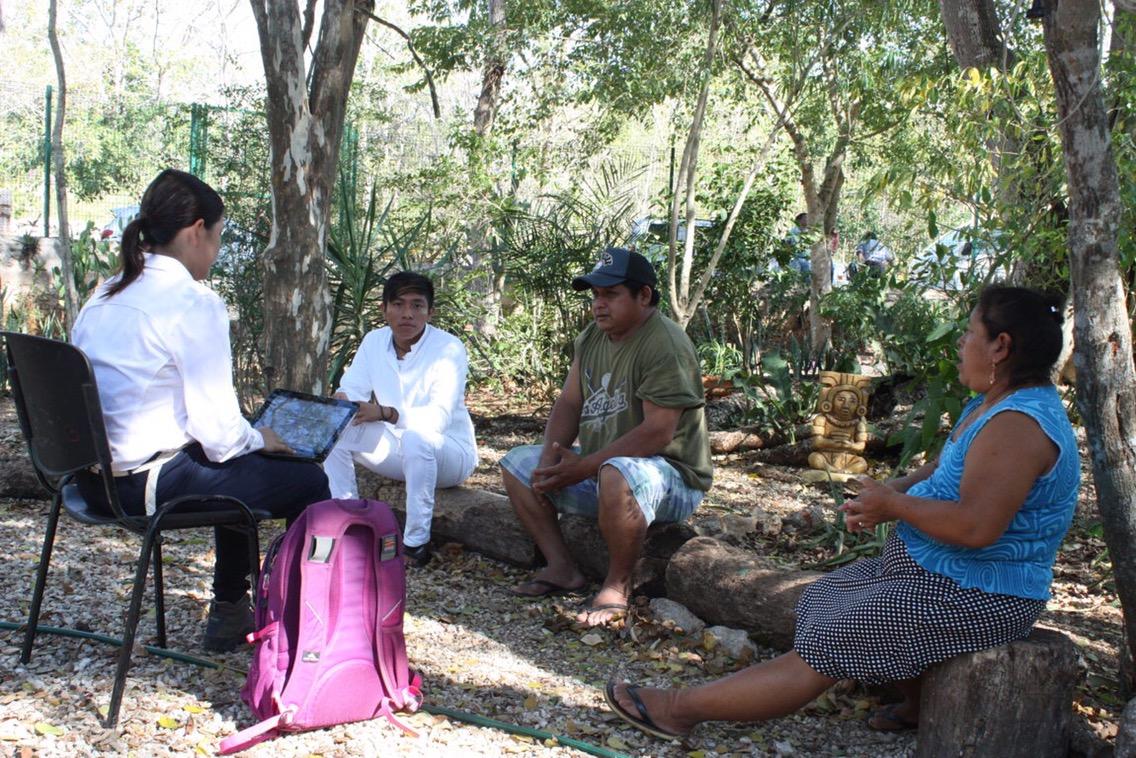 Al rescate de modelo maya para colectar agua de lluvia