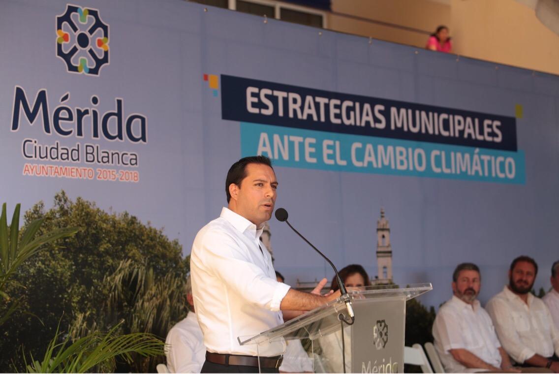 Presentó Vila estrategias municipales ante cambio climático