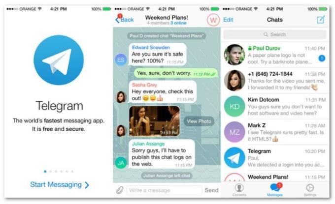 Telegram estrena llamadas de voz