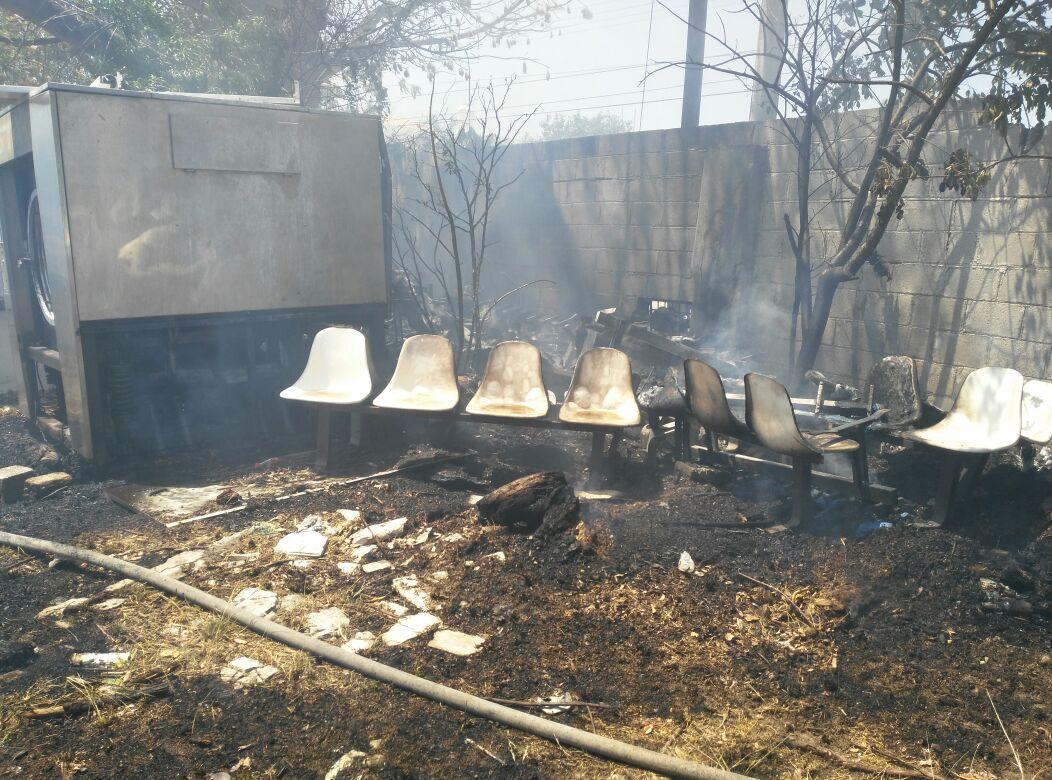 El incendio que causó alarma en Mérida