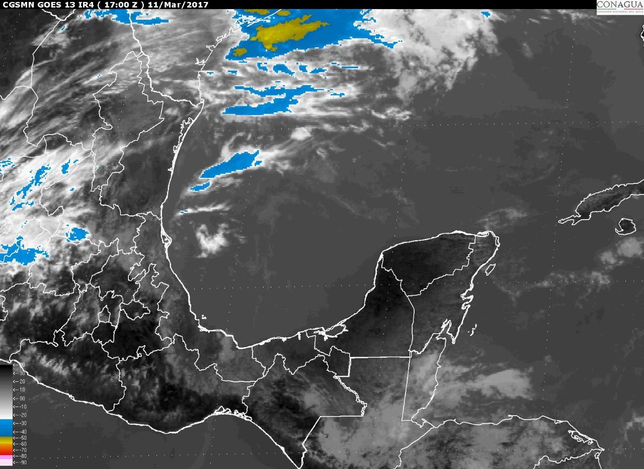 Península de Yucatán, con menos lluvia promedio en marzo