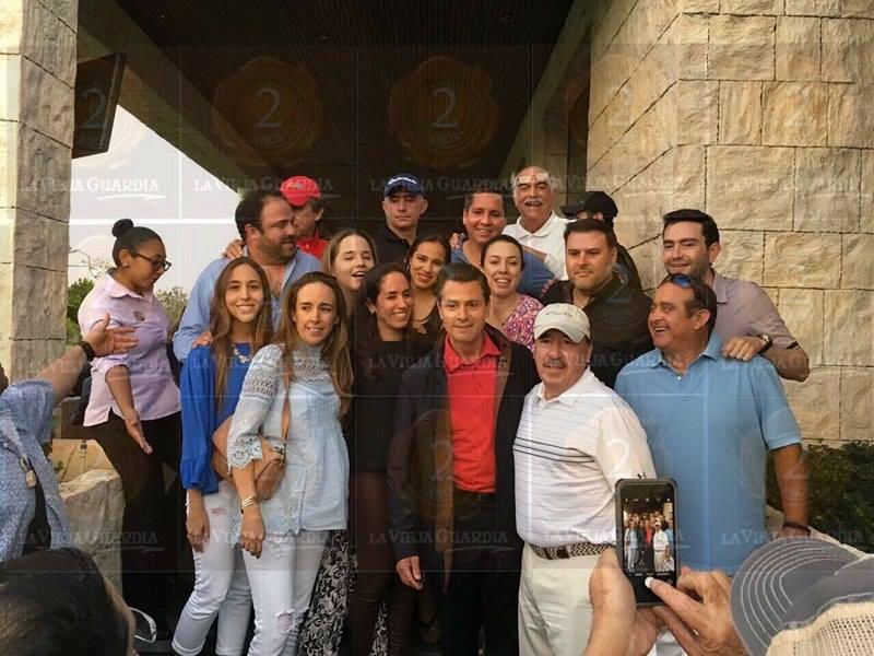"""YUCALEAKS: Peña Nieto y su """"escape"""" a Mérida"""