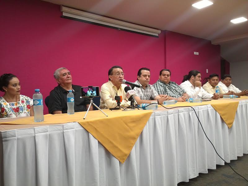 Formalizan bloque contra dirigencia de PRD Yucatán