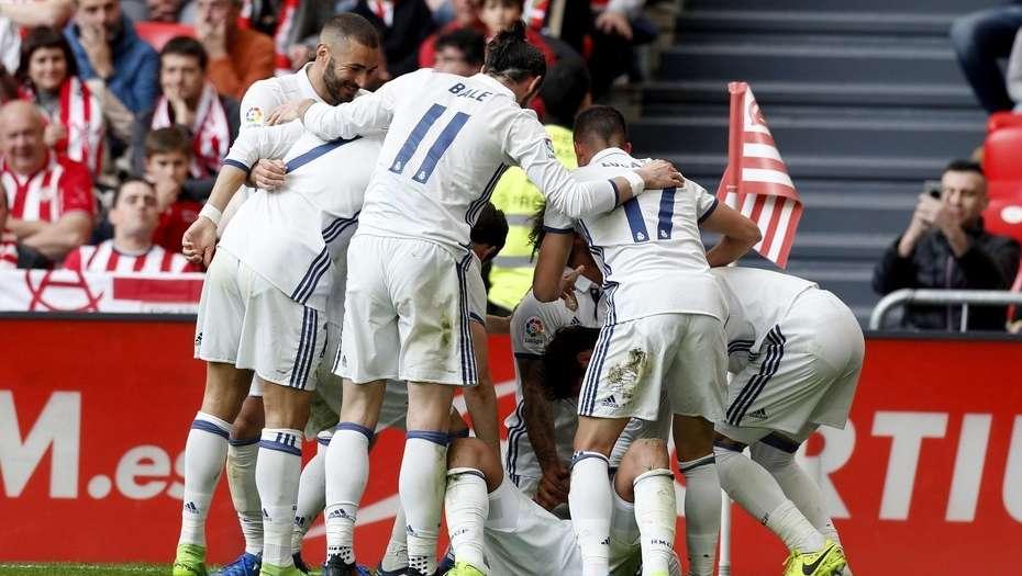 Real Madrid venció al Athletic y continúa líder en La Liga