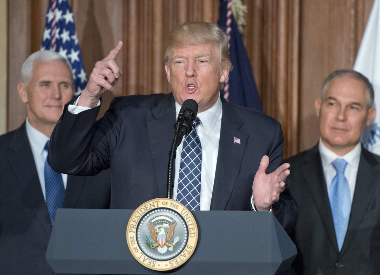 Trump da golpe al clima