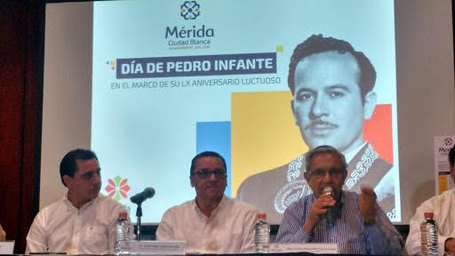 Presentanprograma poraniversario luctuoso de Pedro Infante