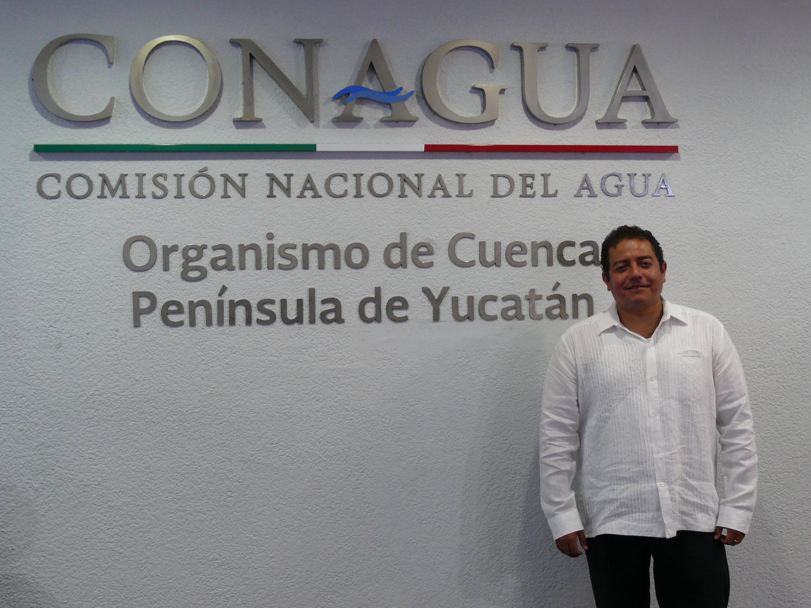 Asume nuevo director en Conagua Yucatán