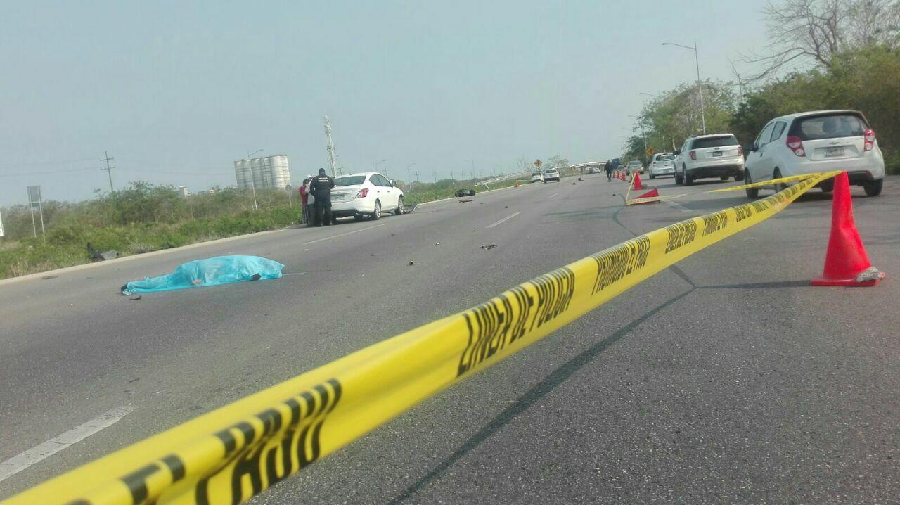 Familia campechana provoca muerte de motociclista