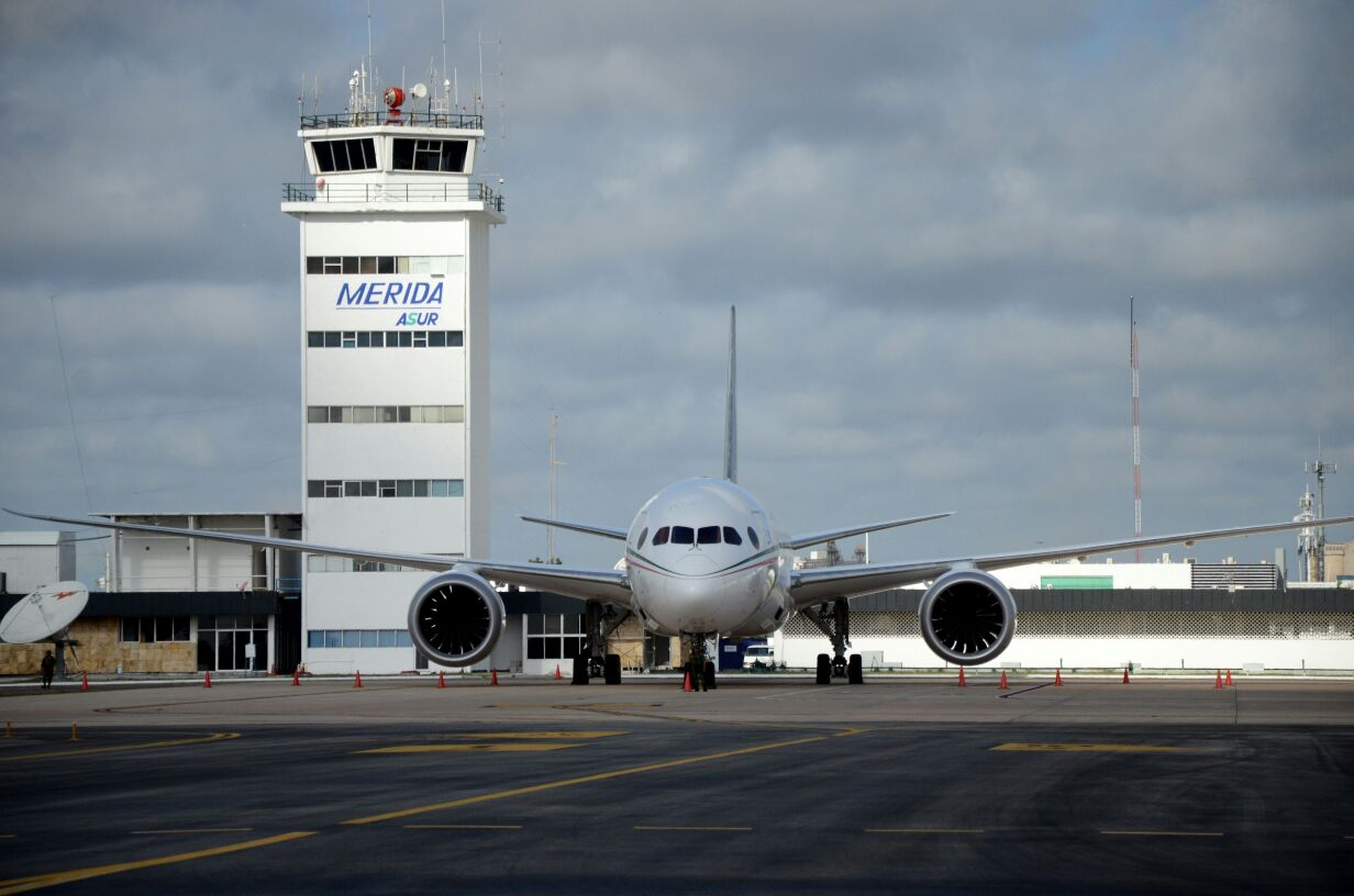 Certifica agencia de ONU aeropuerto de Mérida