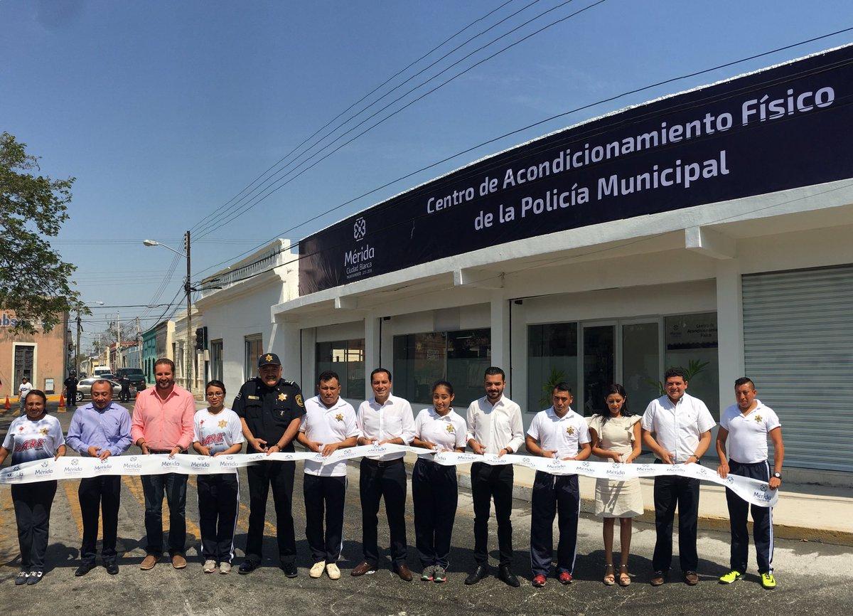 Cierran espacios en Méridaa policías obesos