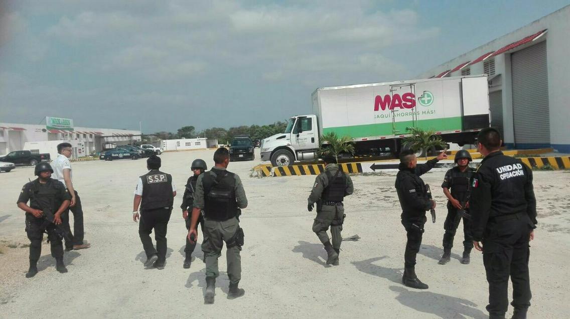 Desmantelan supuesta banda de roba-tráilers