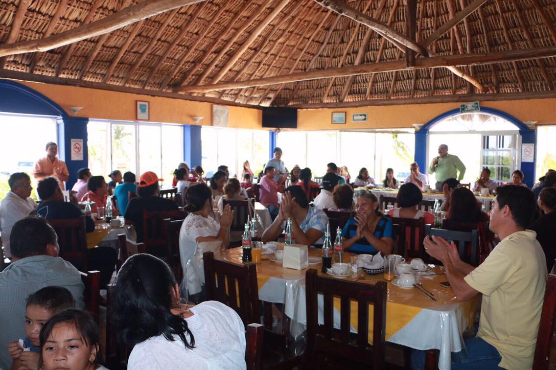 Podemos transformar la vida en puertos yucatecos.- Ramírez Marín