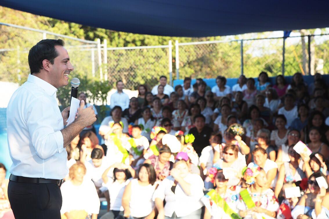 Toman protesta a 22 Consejos de Participación Ciudadana en Mérida